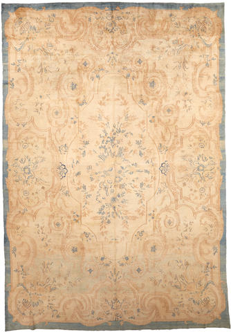 A Kerman carpet South Central Persia size approximately 9ft. 6in. x 14ft.