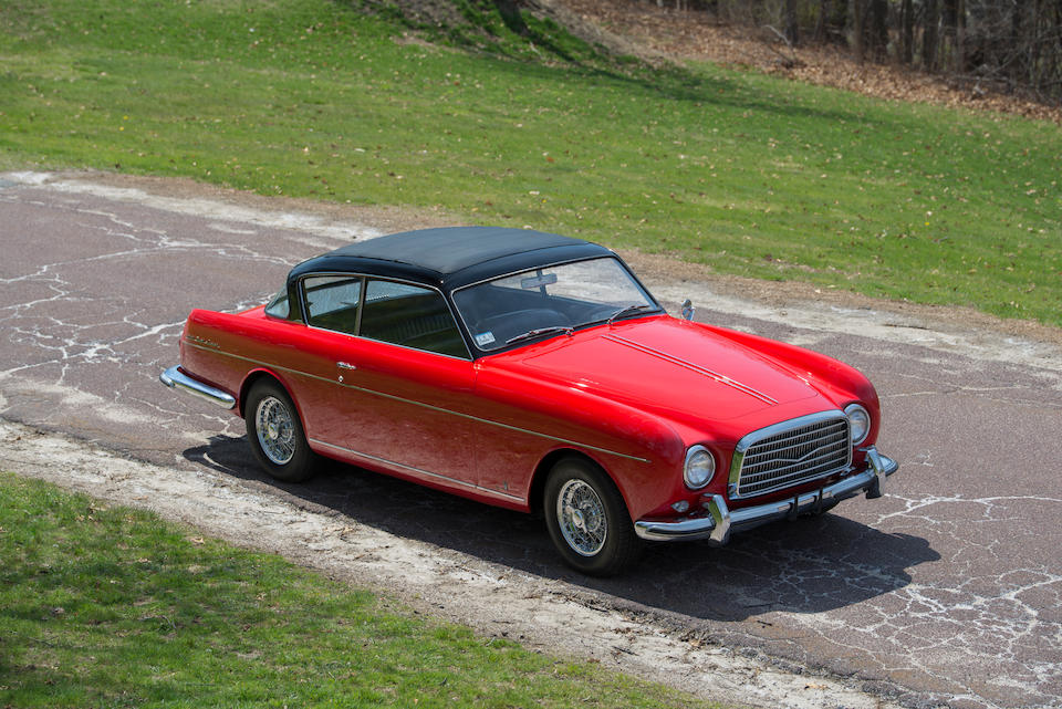 <i>The one-off, coachbuilt, Cadillac-powered</i><BR /><B>1957 BILL FRICK SPECIAL GT COUPE</b><BR /><br />Chassis no. FCC1003<BR />Engine no. 1003