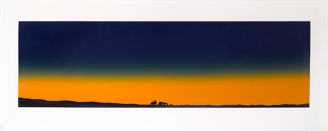 Edward Ruscha (born 1937); Home with Complete Electronic Security System;