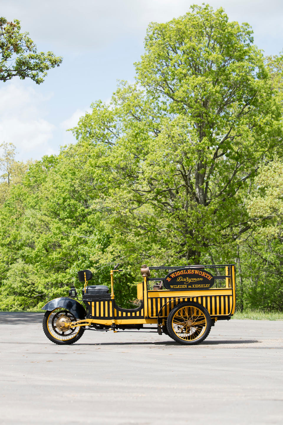 <B>1914 WARRICK 6hp TRI-CAR MOTOR CARRIER<br /></B><BR />Chassis no. 641<BR />Engine no. 641