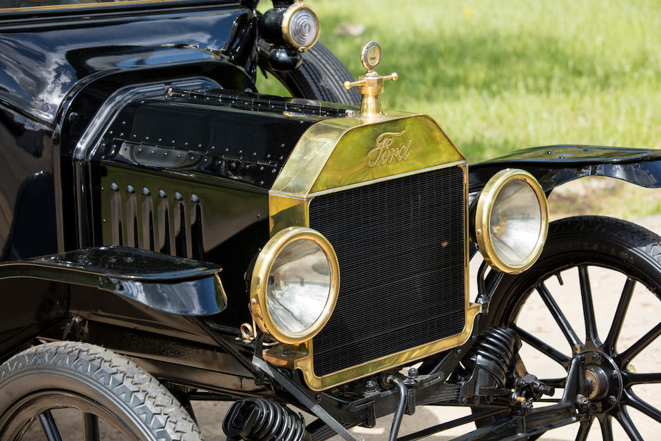 <B>1915 FORD MODEL T RUNABOUT<br /></B><BR />Chassis no. 714840