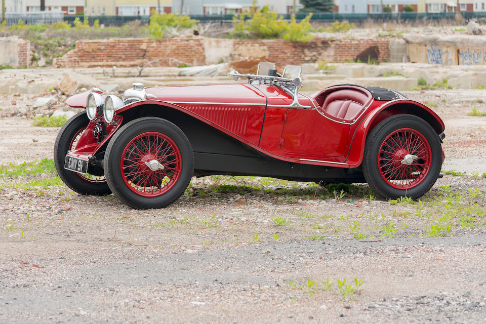 <B>1935 RILEY 9HP IMP TWO SEATER SPORTS<br /></B><BR />Chassis no. 6027683<BR />Engine no. 47252 (see text)