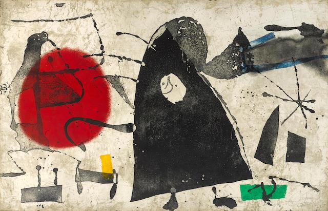 Joan Miró (1893-1983); Els Gossos II ;