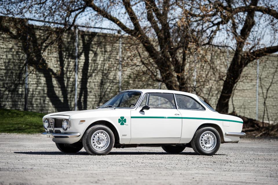 <B>1975 ALFA ROMEO GTA 1300 JUNIOR STRADALE<br /></B><BR />Chassis no. AR 776131<BR />Engine no. AR 00559 05377