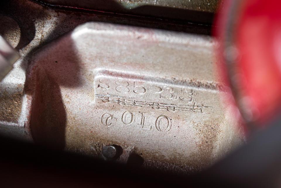 <B>1950 CROSLEY HOT SHOT ROADSTER<br /></B><BR />Chassis no. WN5400193351