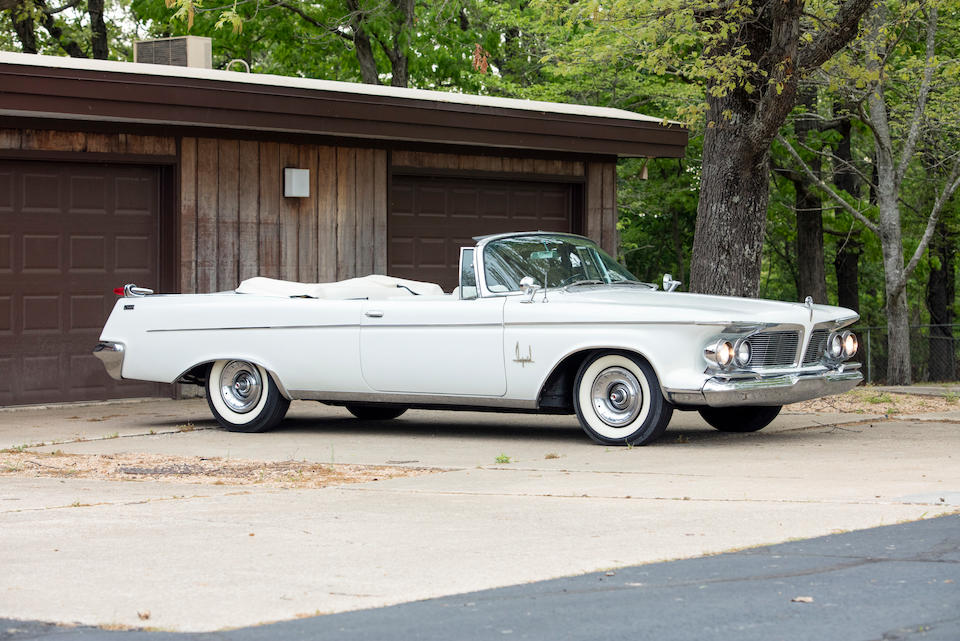 <B>1962 IMPERIAL CROWN IMPERIAL CONVERTIBLE<br /></B><BR />Chassis no. 9223176860