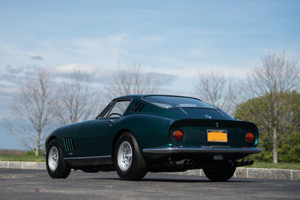 <i>Rare original color scheme, in the current ownership for four decades</i><BR /><B>1967 FERRARI  275 GTB/4<BR /></B>Coachwork by Scaglietti - Design by Pininfarina<br /><BR />Chassis no. 10413<BR />Engine no. 10413