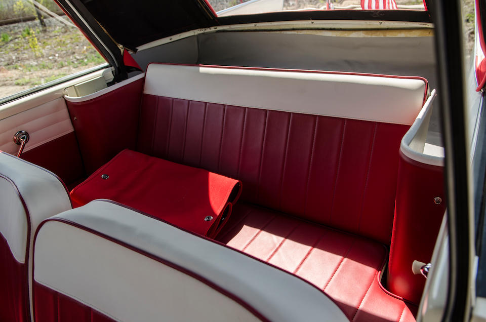 <B>1965 AMPHICAR MODEL 770 CONVERTIBLE<br /></B><BR />Chassis no. 100251 <BR />Engine no. 499