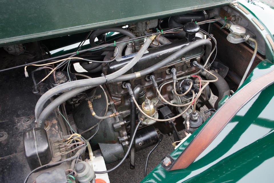 <B>1963 MORGAN 4/4 SERIES IV TWO SEATER<br /></B><BR />Chassis no. B1243<BR />Engine no. 2323