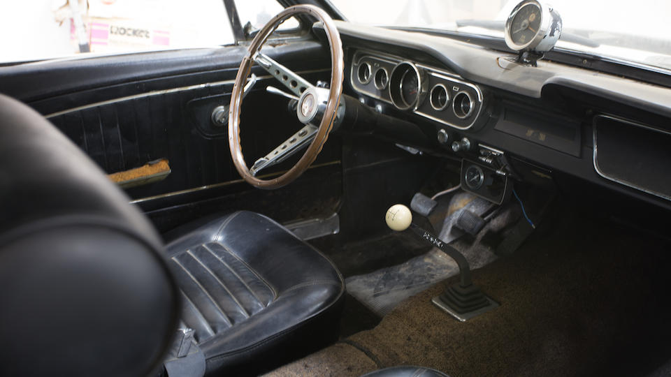 """<i>Recently discovered """"barn find""""<br />Just one owner from new</i><BR /><B>1966 SHELBY GT350 """"CARRY OVER CAR""""<br /></B><BR />Chassis no. SFM6S163"""