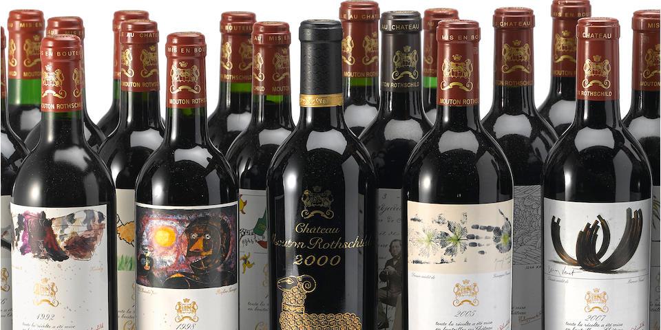 Château Mouton Rothschild Vertical Selection 1970-2008 (39)