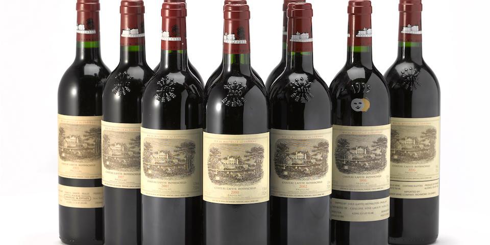 Château Lafite Rothschild Vertical Selection 1990-2010, Pauillac 1er Grand Cru Classé (21 bottles)