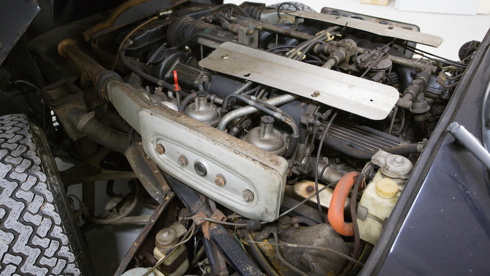 <i>Barn find fresh from 36 years in storage</I><BR /><B>1972 JAGUAR E-TYPE SERIES III V12 COUPE 2+2<br /></B><BR />Chassis no. UC1S73754<BR />Engine no. 7S7 881 SA
