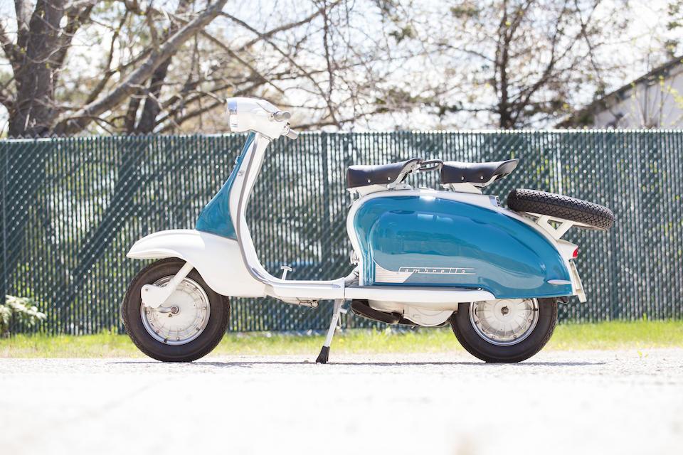 <B>1960 LAMBRETTA LI 150 SERIES 2<br /></B><BR />Frame no. 150LI*845745