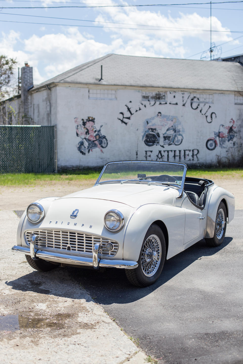 <B>1962 TRIUMPH TR3'B' ROADSTER</B><BR />Chassis no. TCF 862 L<BR />Engine no. TCF 883 L