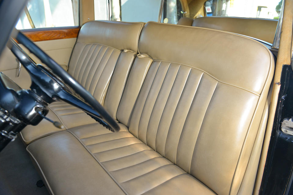 <i>Single family ownership from new, originally delivered to Elmer Holmes Bobst</i><BR /><B>1961 ROLLS-ROYCE  SILVER CLOUD II LONG WHEELBASE SALOON WITH DIVISION<br /></B><BR />Chassis no. LLCB80<BR />Engine no. LC79B
