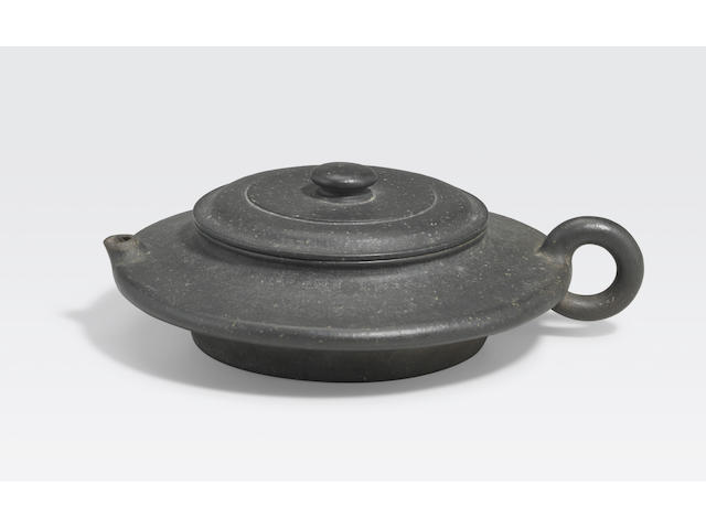 An Yixing pottery teapot Chen Mingyuan mark