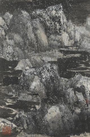 Wang Jiqian (C. C. Wang, 1907-2003) Winter Landscape, 1985
