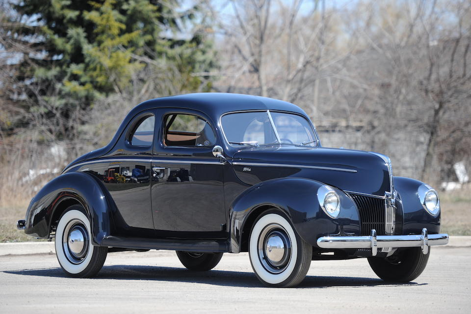 <B>1940 FORD 5-WINDOW COUPE</B>