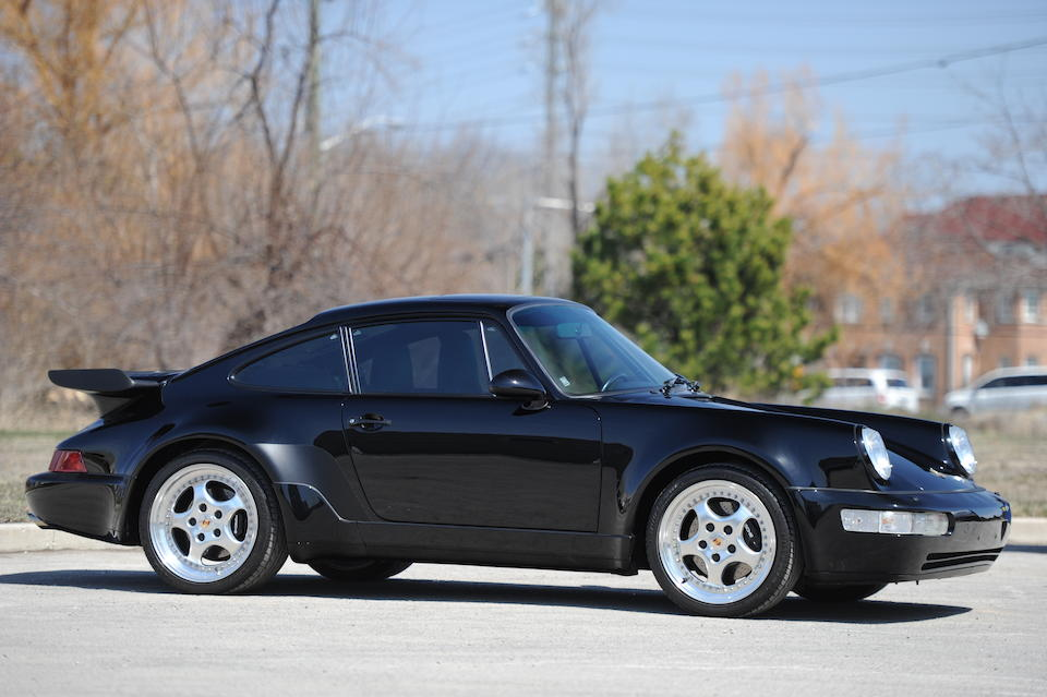 <B>1991 PORSCHE 964 TURBO COUPE</b>