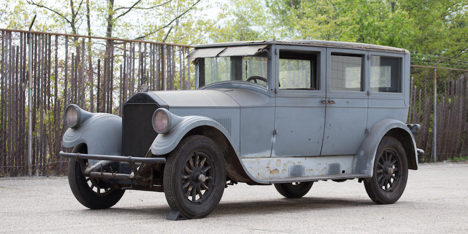 <B>1927 Pierce-Arrow Model 80 Seven Passenger Sedan</B><BR />Chassis no. 8016115