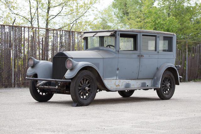 <B>1927 Pierce-Arrow Model 80 Seven Passenger Sedan</B><BR />Chassis no. 8016115
