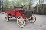 "<B>1908 Galloway ""Dual Purpose Vehicle"" Highwheeler Station Wagon</B><BR />Engine no. 838"