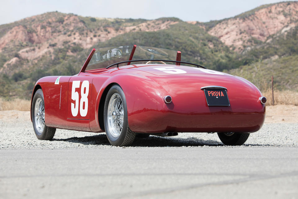 <i>Offered from the Estate of John and Betty Murphy</i><BR /><B>1949 'ALFA ROMEO' 6C PLATÉ SPECIAL<br /></B>