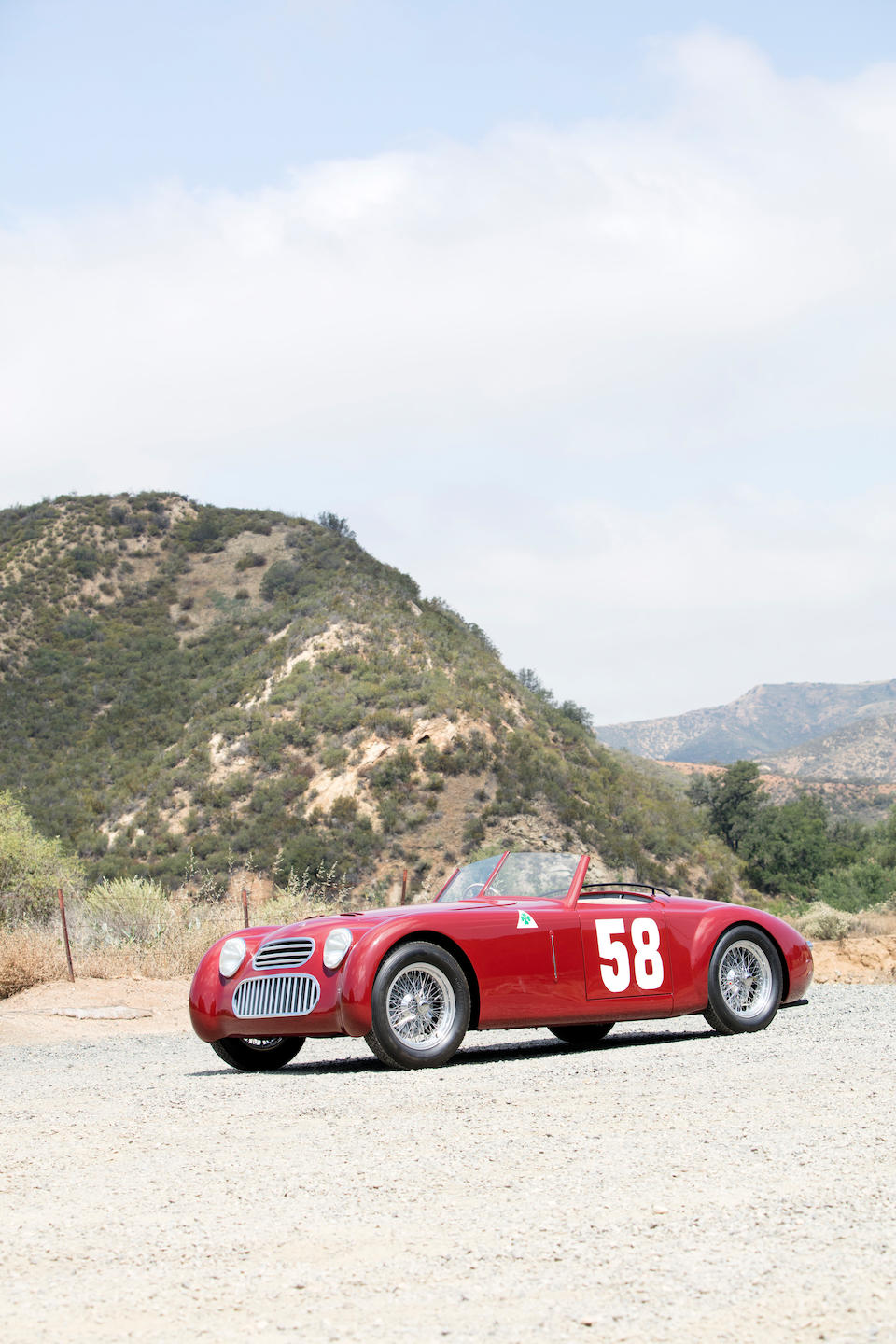 <i>Offered from the Estate of John and Betty Murphy</i><BR /><B>1949 'ALFA ROMEO' 6C PLAT&#201; SPECIAL<br /></B>