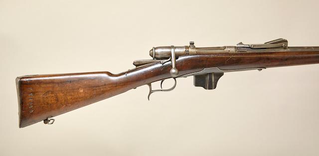 An Italian Model 1870/87 Vetterli bolt action rifle
