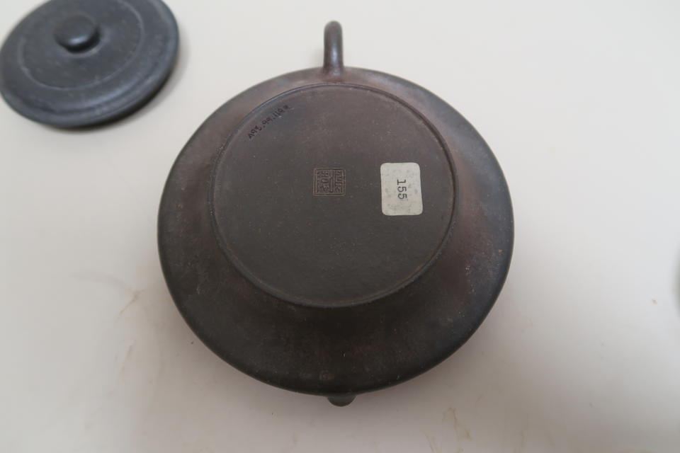 An Yixing pottery teapot Chen Mingyuan mark