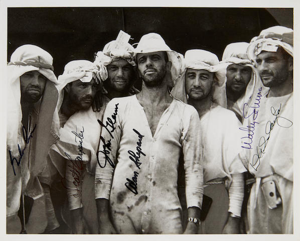 SURVIVAL SCHOOL FOR THE MERCURY 7, SIGNED BY 6