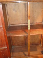 A pair of huanghuali and hardwood tapered cabinets Late Qing/Republic Period