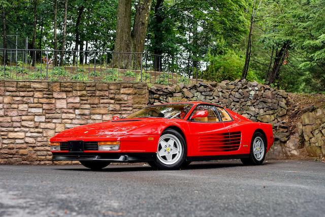 Bonhams 1988 Ferrari Testarossa
