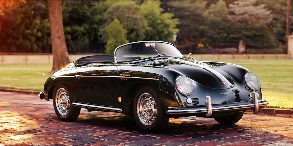 <B>1956 PORSCHE 356A CARRERA GS SPEEDSTER</b>