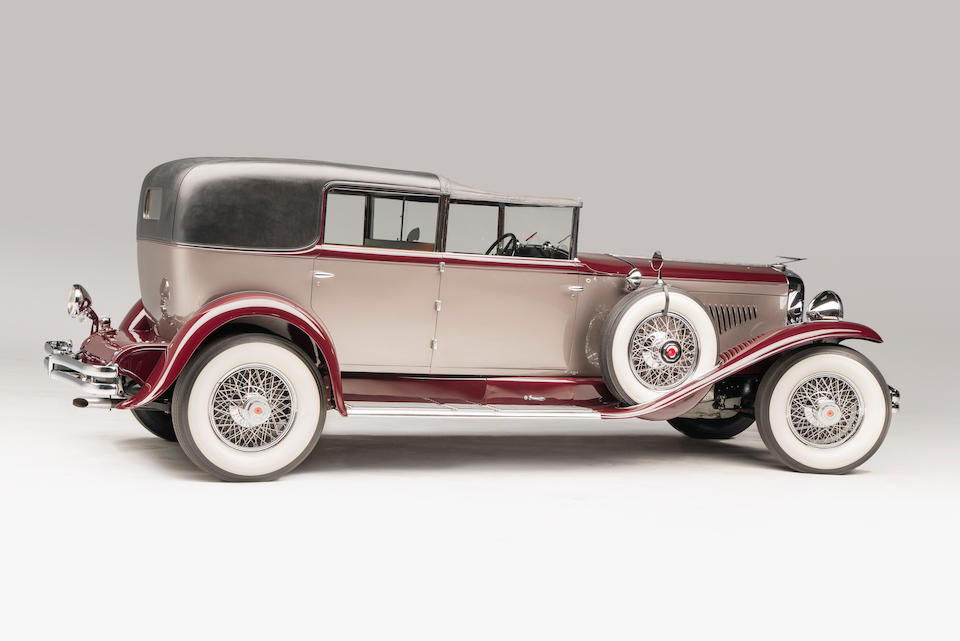 <i>The ex-Nanaline Holt Inman Duke</i><BR /><B>1930 DUESENBERG MODEL J TOWN CABRIOLET</B>