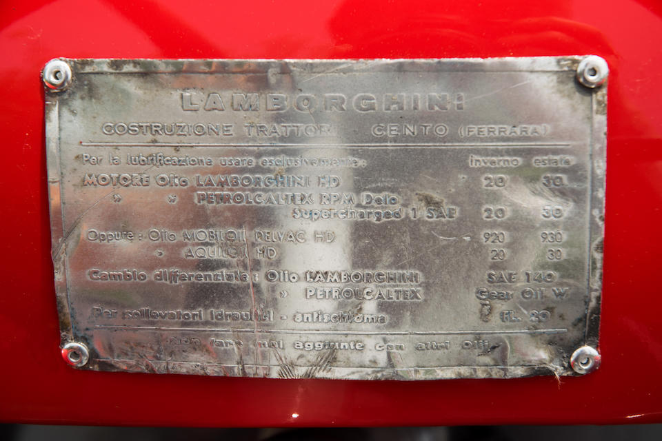 <B>1955 LAMBORGHINI DL25 TRACTOR</B>