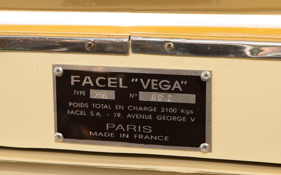 <B>1959 FACEL-VEGA HK500 COUPE</B>
