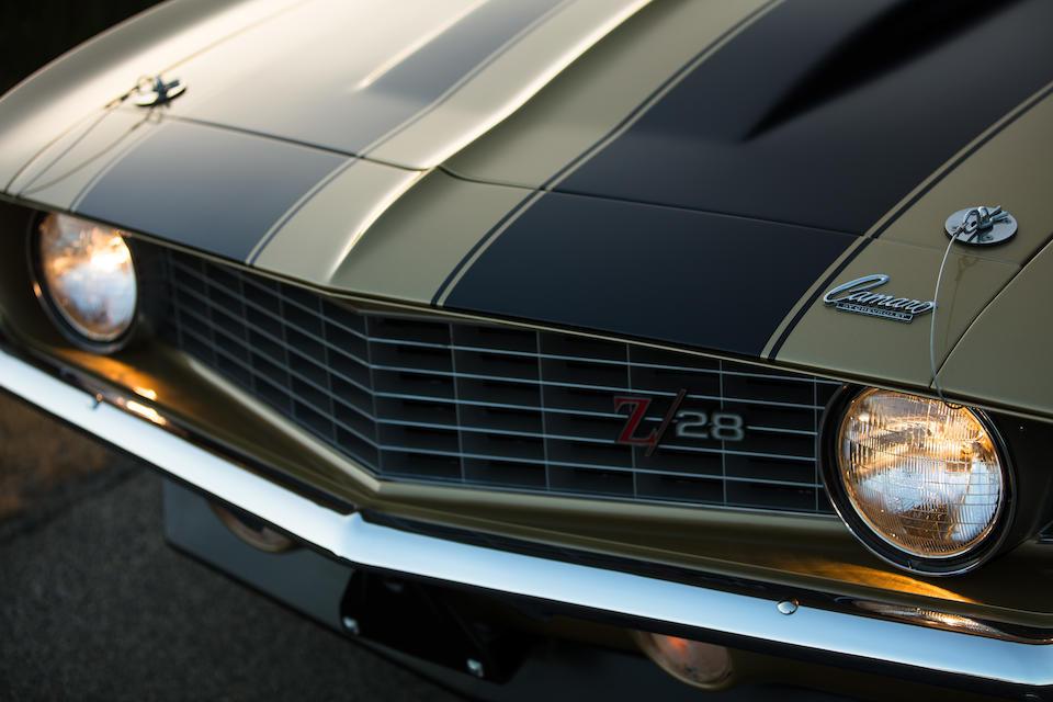 <B>1969 CHEVROLET CAMARO Z/28 COUPE</B>