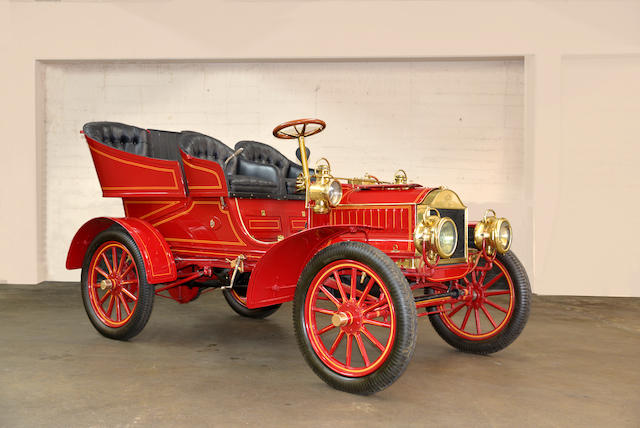 "<B>1904 OLDSMOBILE MODEL T ""FRENCH FRONT"" LIGHT TONNEAU</B>"