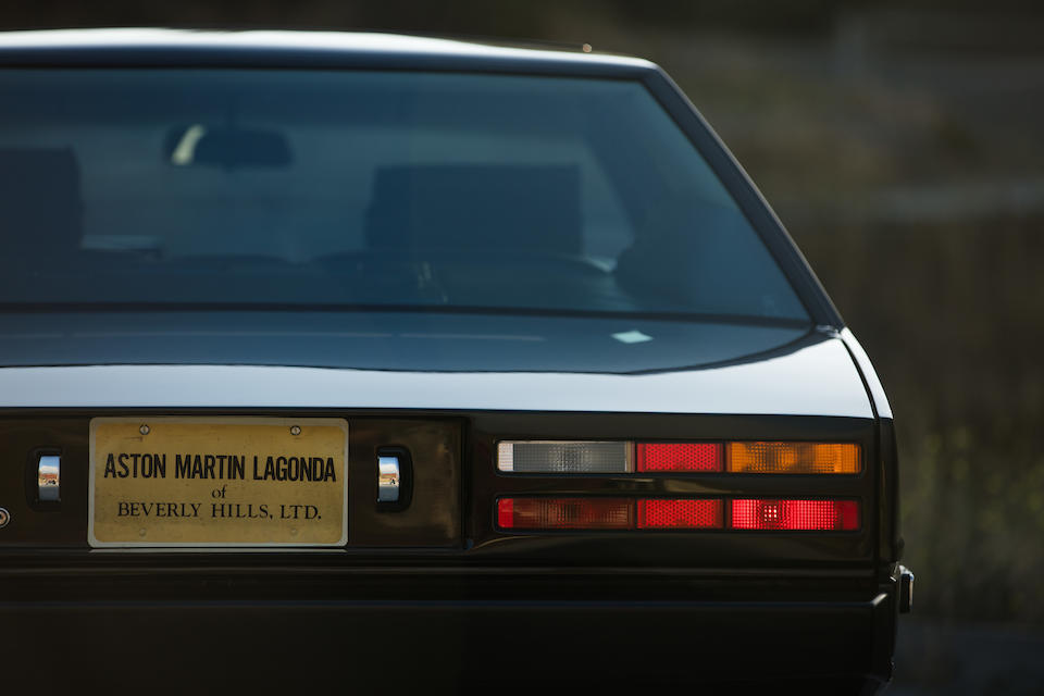 <b>1983 ASTON MARTIN LAGONDA SEDAN</b>