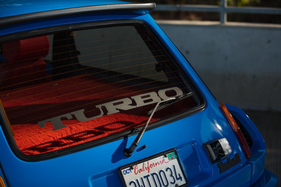 <B>1983 RENAULT 5 TURBO II</b>