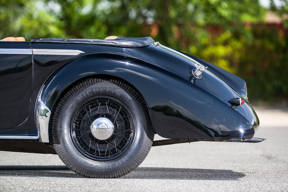 <i>Proceeds to Benefit The Simeone Foundation Automotive Museum<br />Formerly owned by Grant Barney Schley III</i><BR /><B>1938 TALBOT T23 4.0-LITER CABRIOLET</b>
