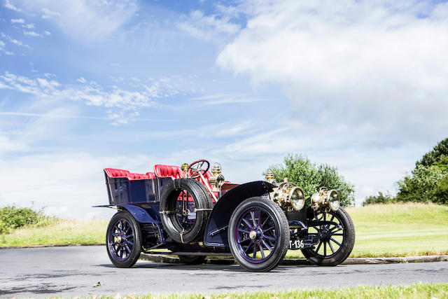 <B>1904 MERCEDES-SIMPLEX 28-32HP FIVE SEAT REAR ENTRANCE TONNEAU</b>