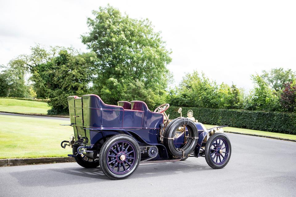<B>1904 MERCEDES-SIMPLEX 28-32HP FIVE SEAT REAR ENTRANCE TONNEAU</b>