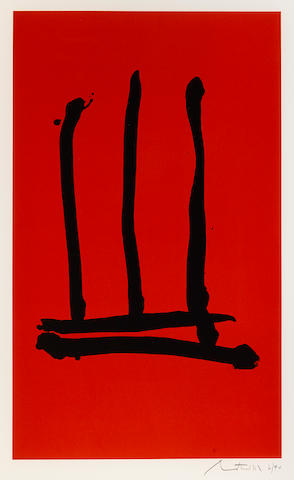 Robert Motherwell (1915-1991); Palo Alto;