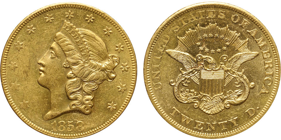 1858-O $20