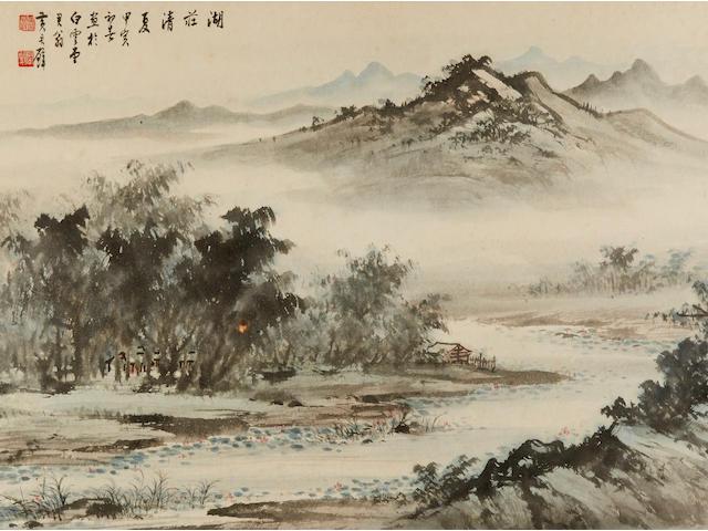 Huang Junbi (1898-1991)  Landscape, 1974