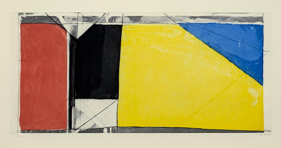 Richard Diebenkorn (1922-1993); Folsom Street Variation III (Primary);