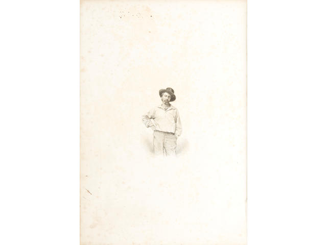 WHITMAN, WALT. 1819-1892. Leaves of Grass. Brooklyn, NY: [for the Author], 1855.